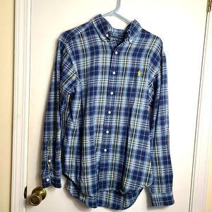 Ralph Lauren Flannel Plaid Shirt